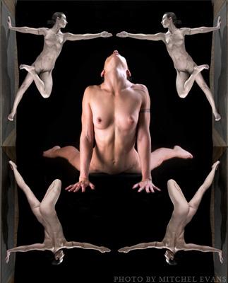 Know one Nude erotic yoga